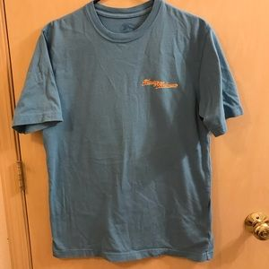 Tommy Bahama Grills Next Door Blue Graphic T Shirt